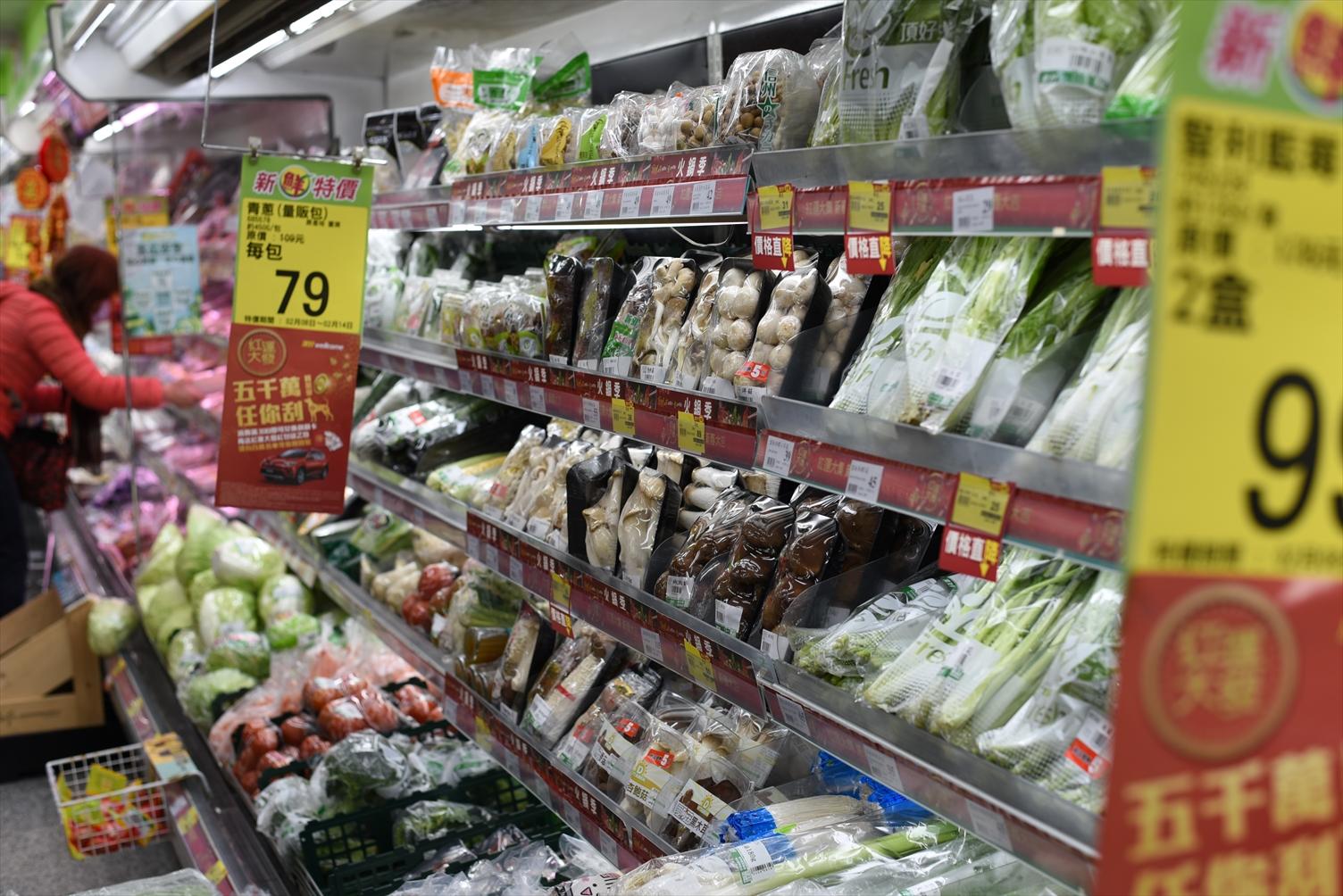西門町 頂好スーパー 野菜