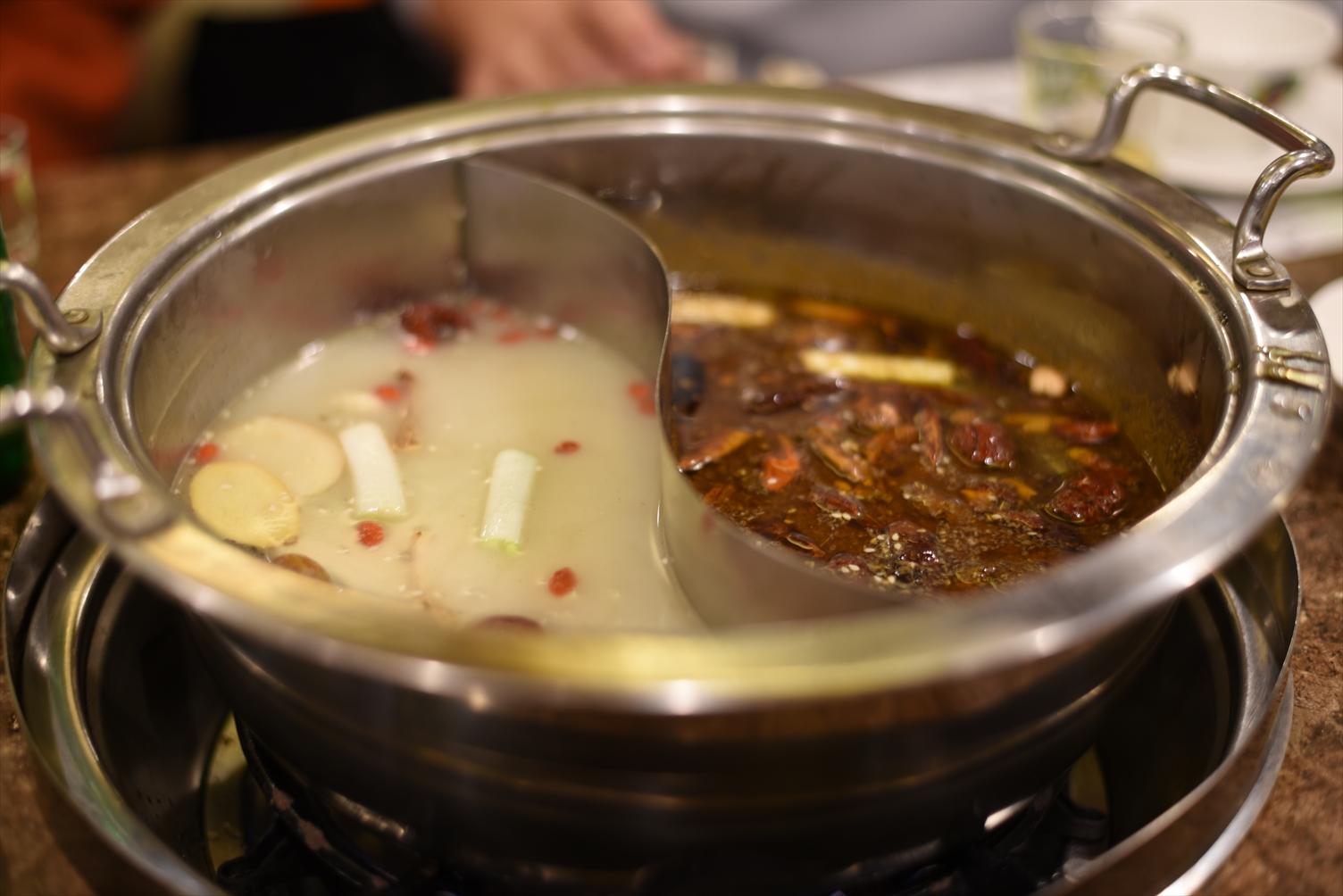 モンゴル 火鍋 天香回味養生煮