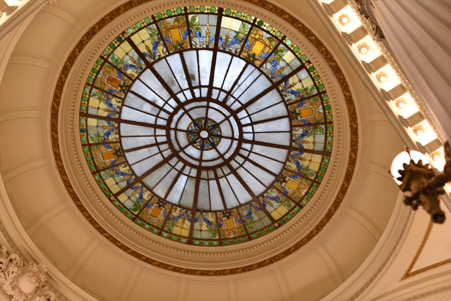 国立台湾博物館 ステンドグラス