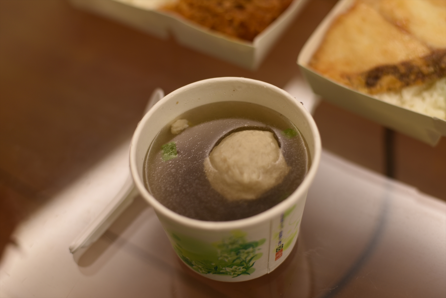 山珍海味 台北 西門町 スープ