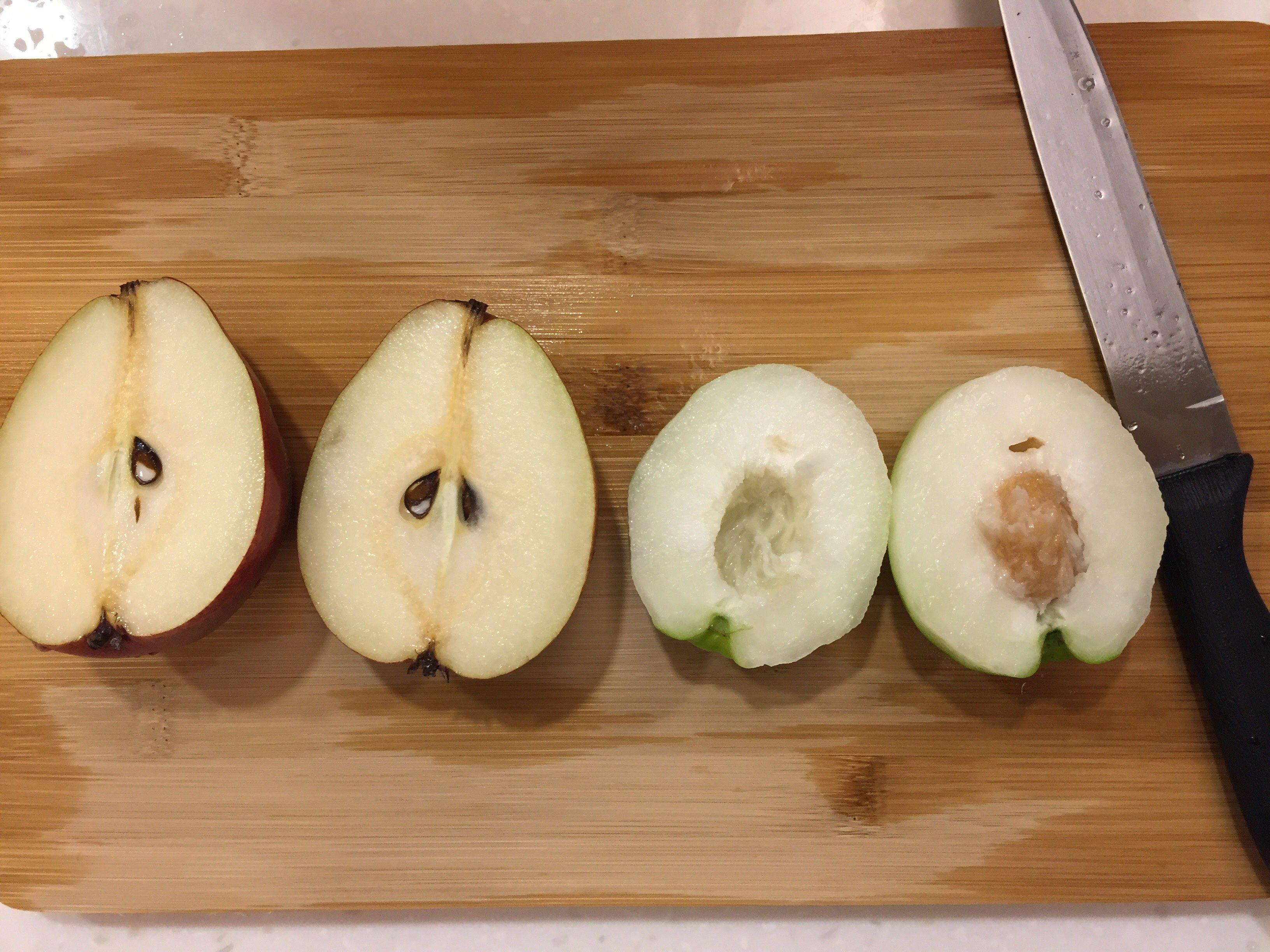 台北 冬 フルーツ インドナツメ 洋梨
