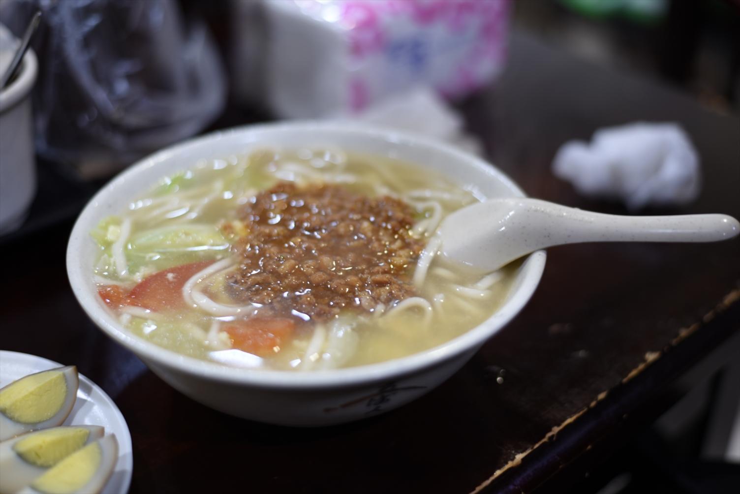 龍記搶鍋麺 西門町 芙蓉麺