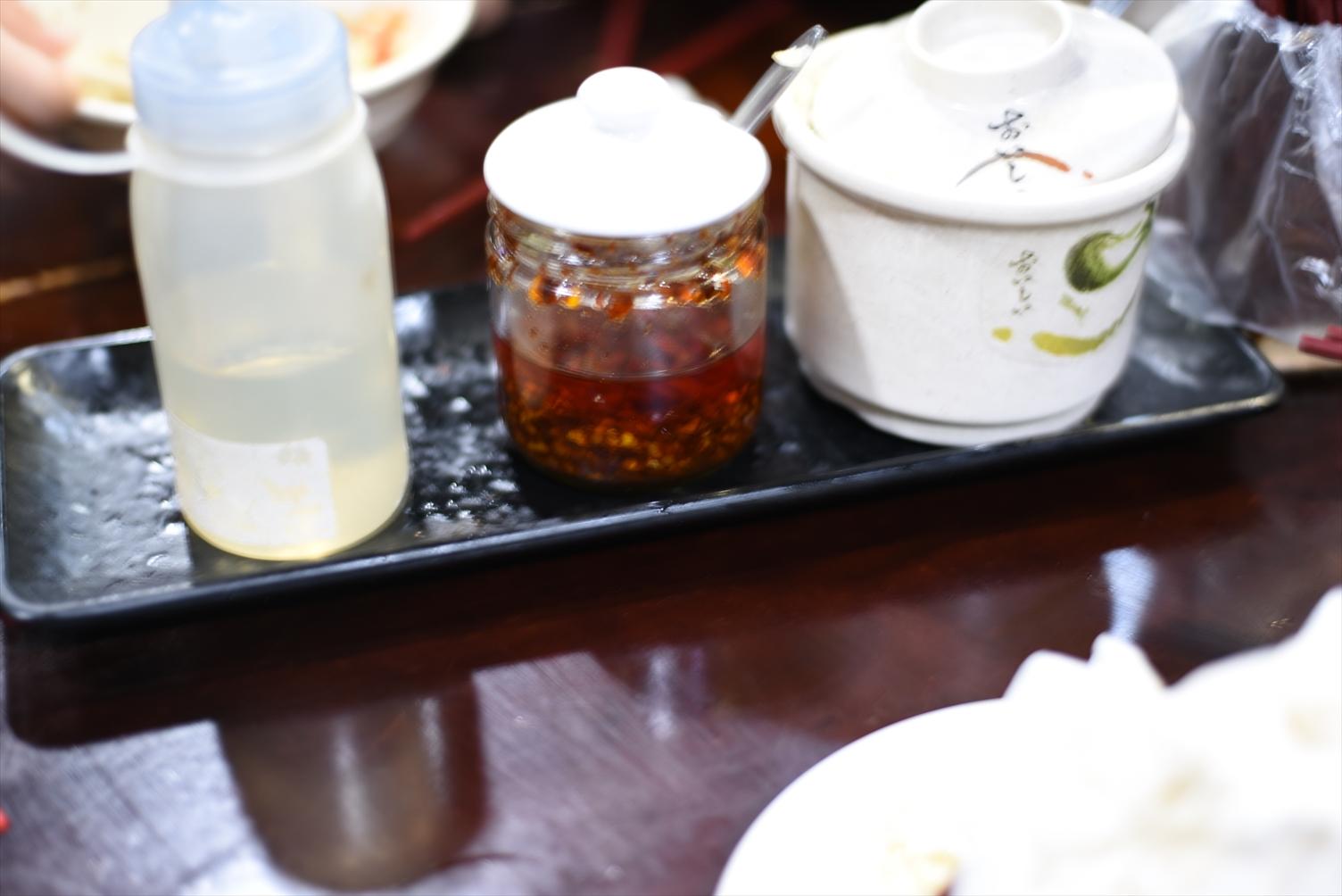 龍記搶鍋麺 西門町 調味料