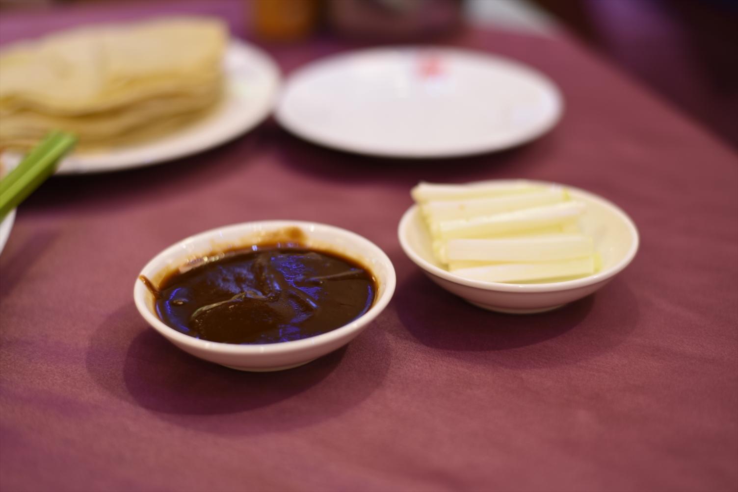 天厨菜館 北京ダック タレ