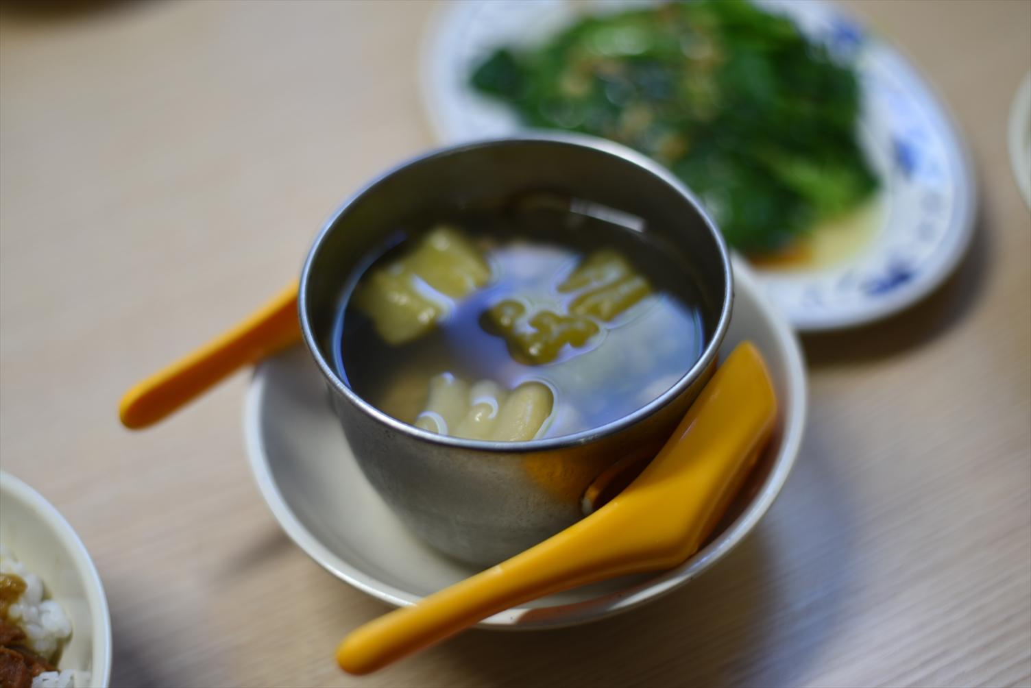 金峰魯肉飯 スープ