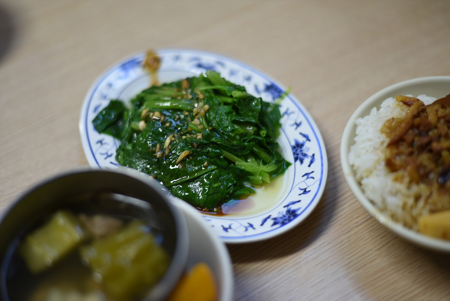 金峰魯肉飯 青菜