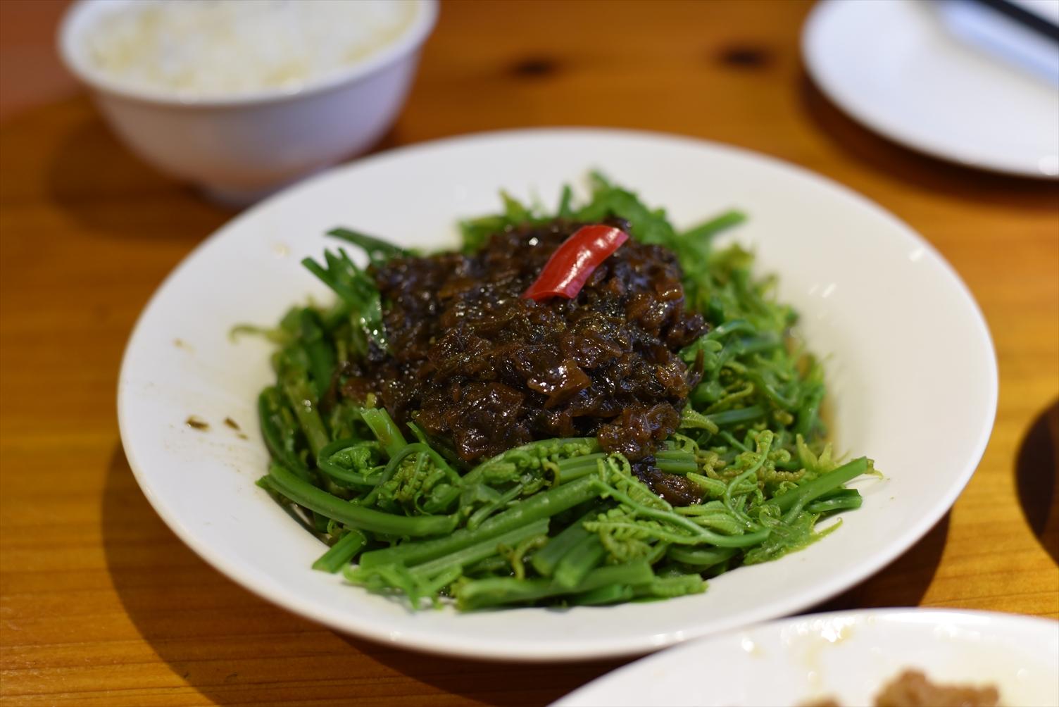 豊盛食堂 永康街 野菜料理