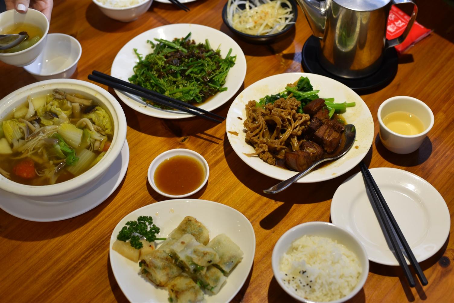 豊盛食堂 永康街 料理