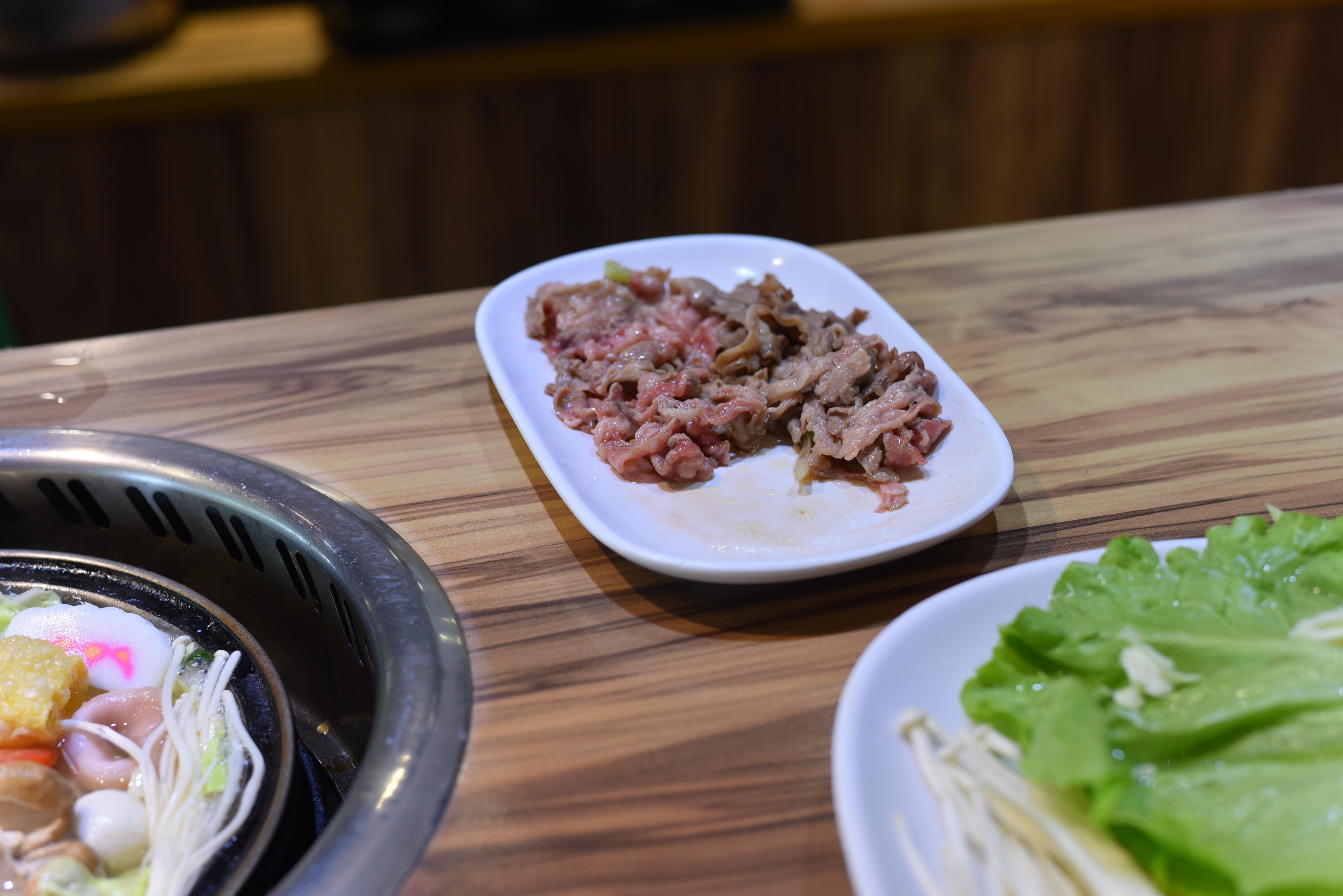 旺角石頭火鍋 肉