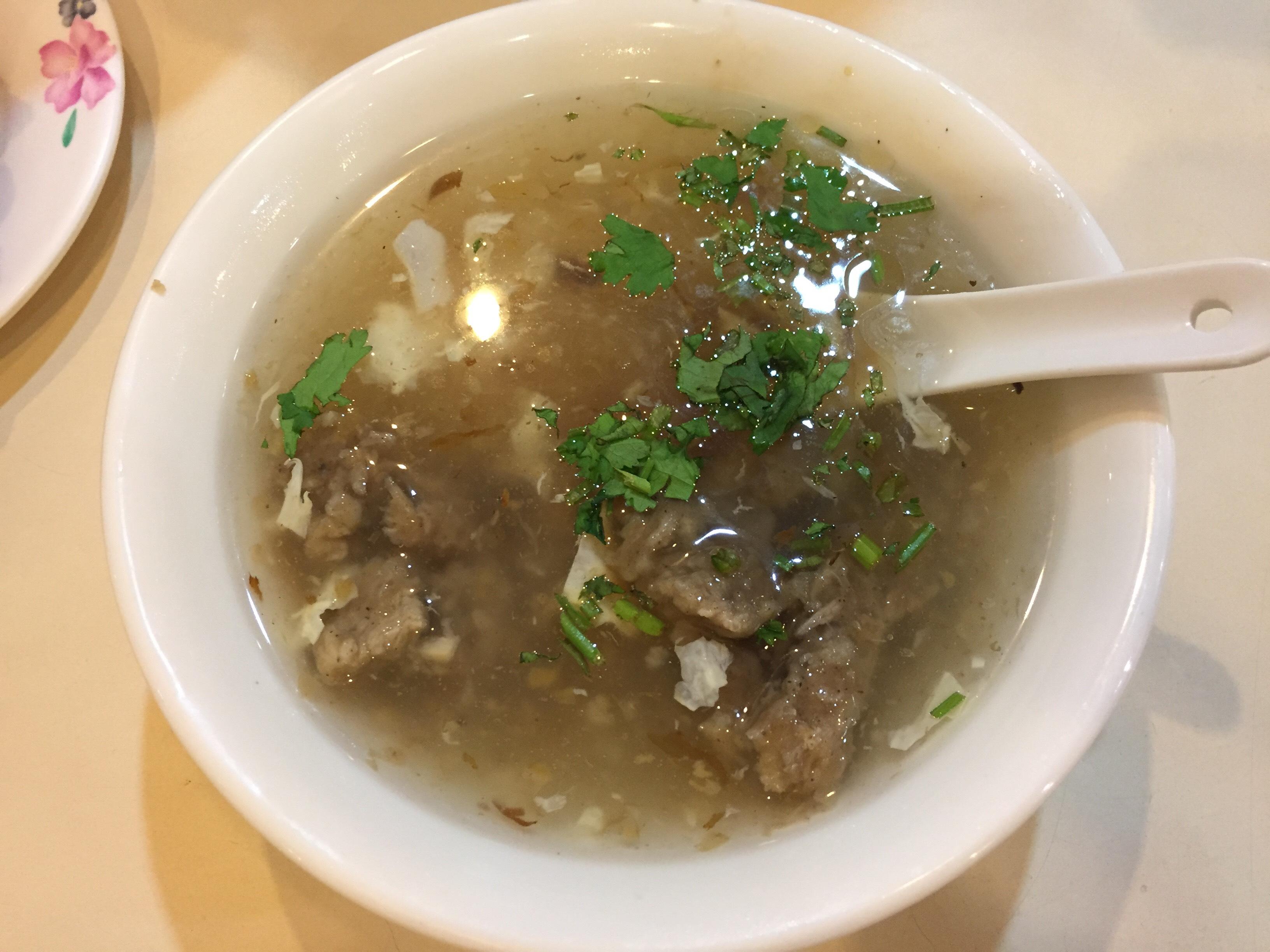 永富魚丸店 豚肉スープ