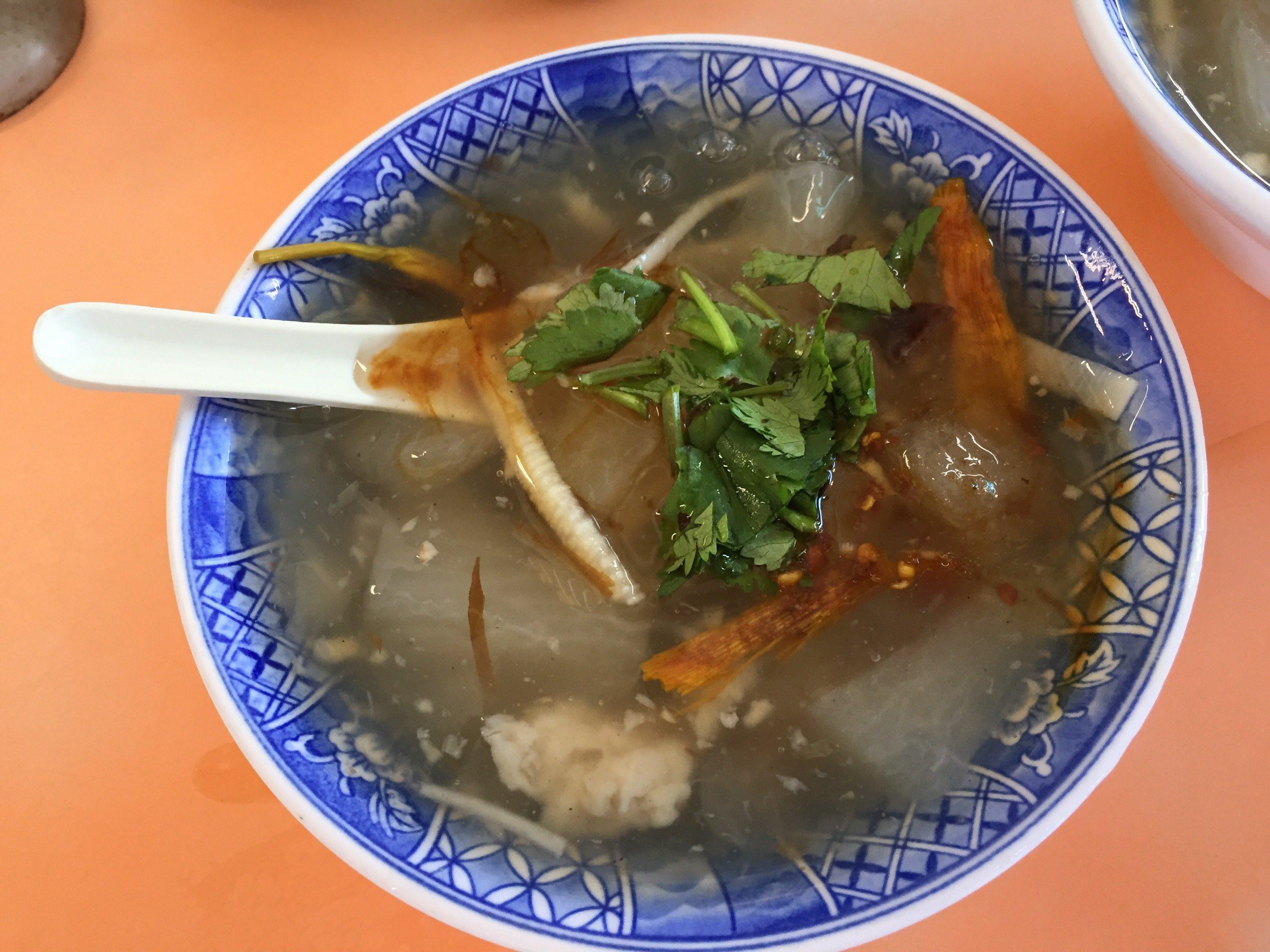 正老牌魷魚平 イカ大根スープ