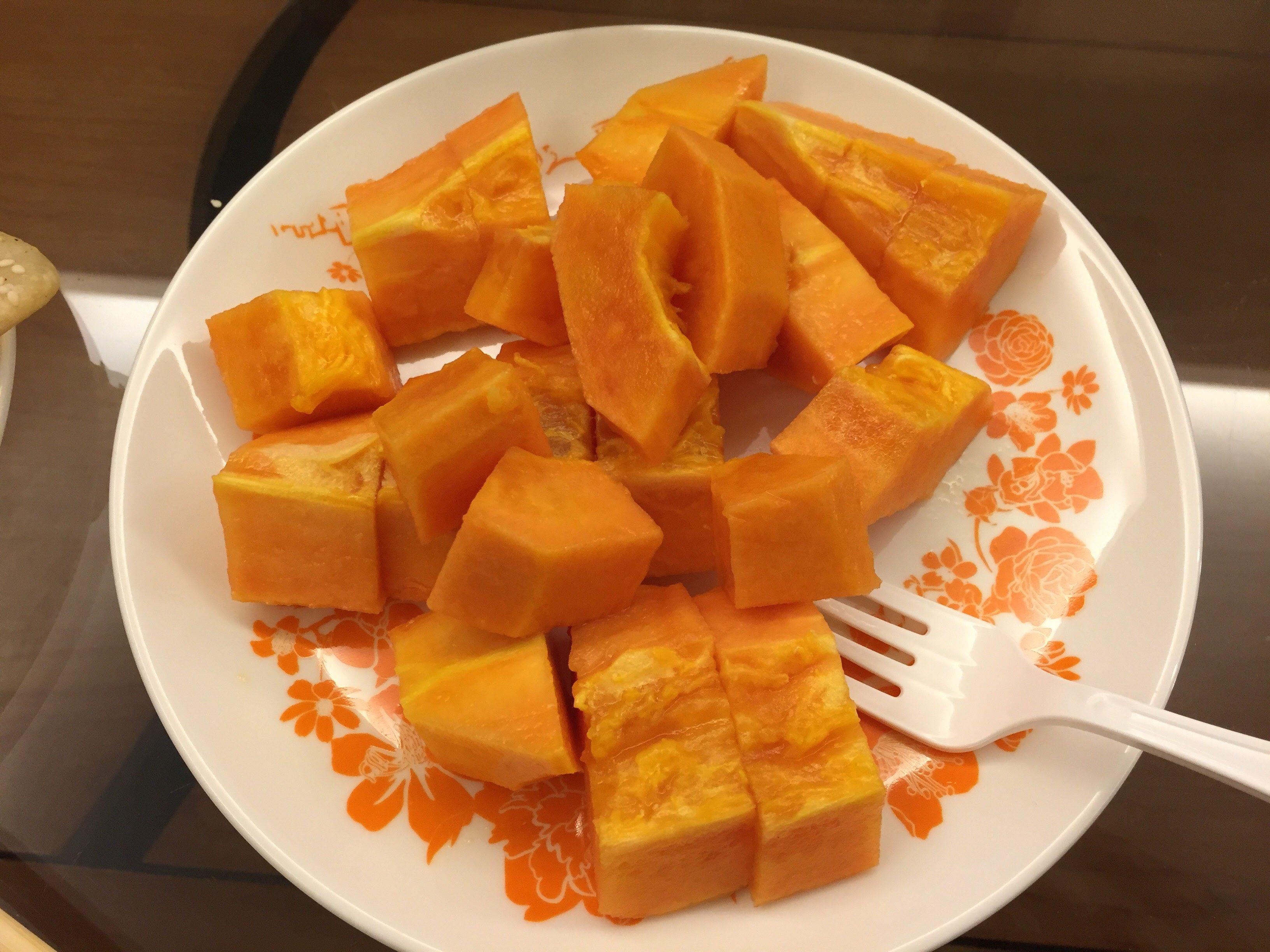 台北 冬 果物 フルーツ パパイヤ