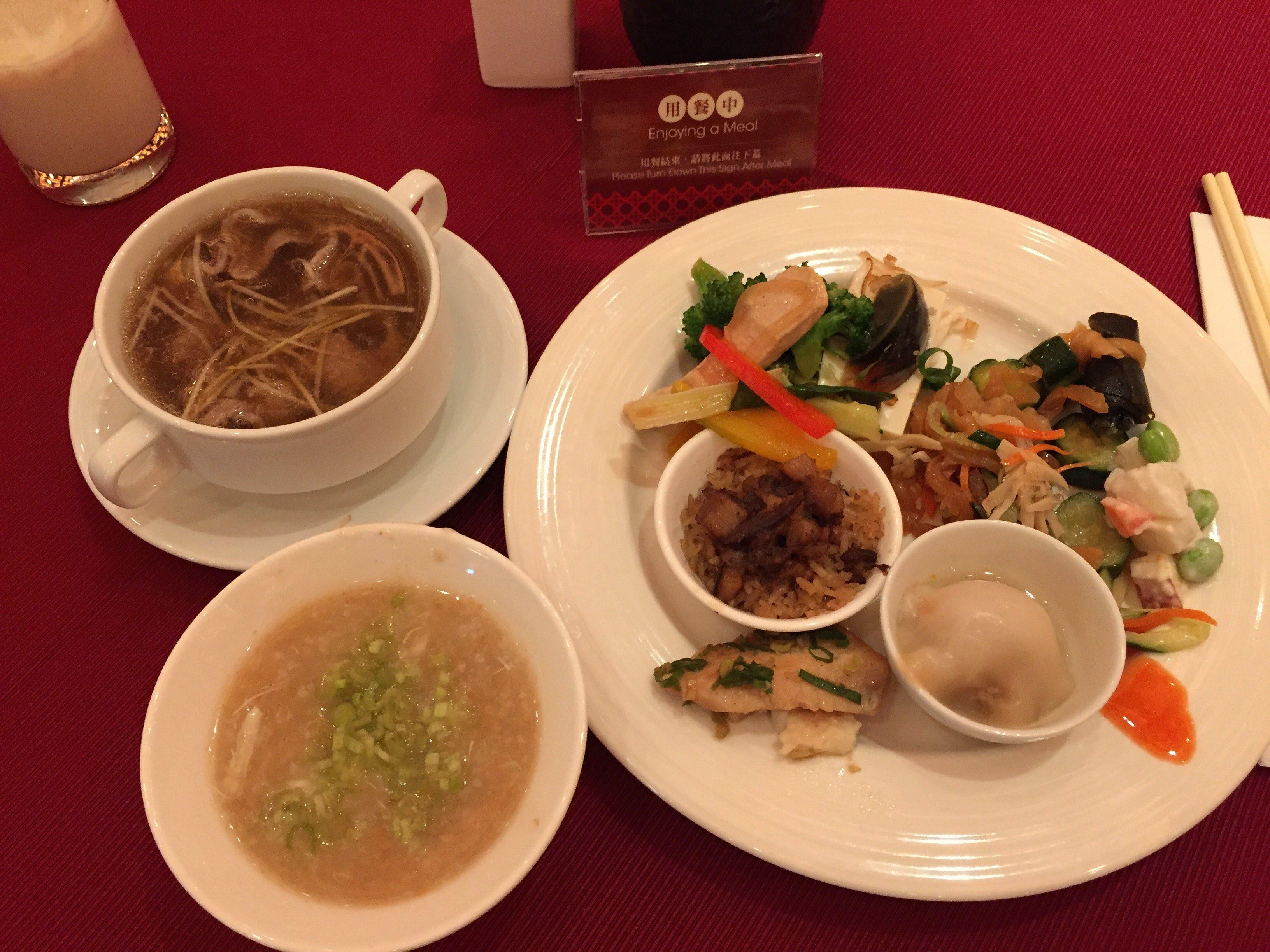 シルクスプレイス台南 朝食バイキング
