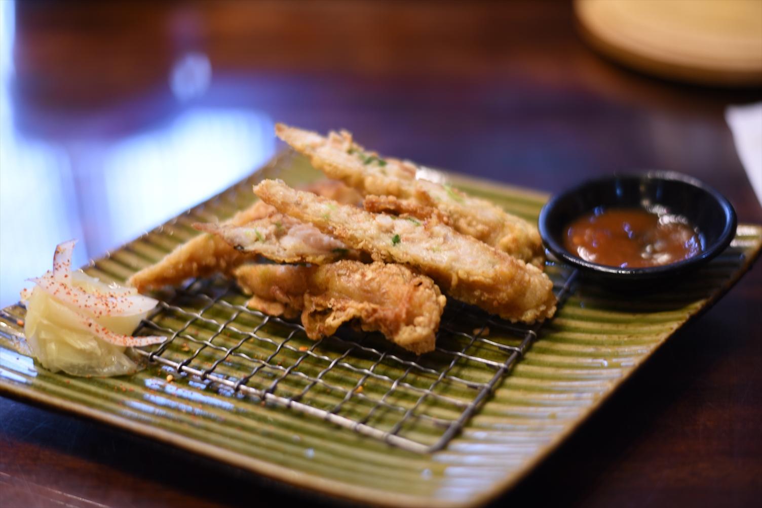 台南 度小月 黃金蝦捲