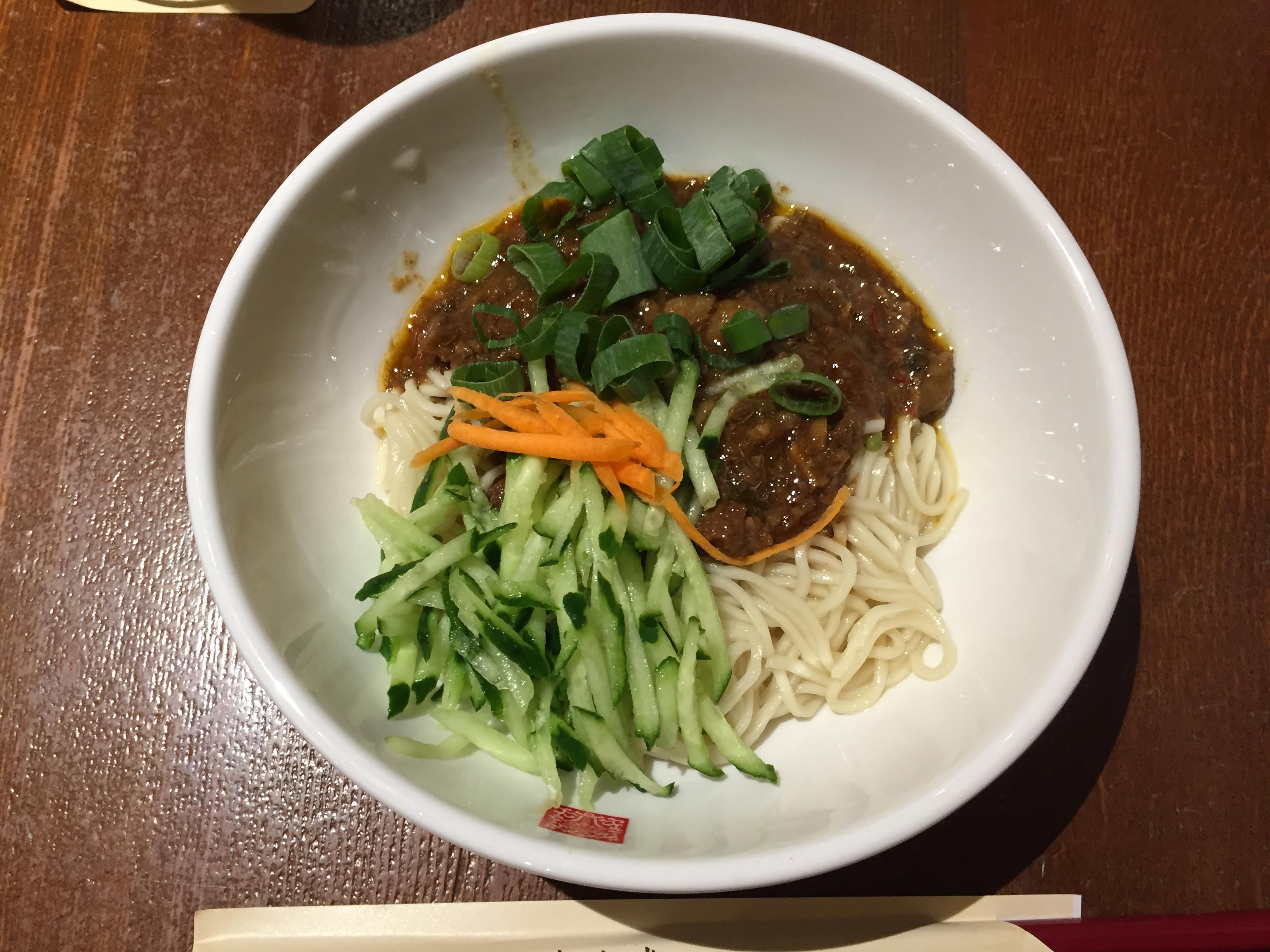 春水堂 金典店 肉味噌まぜ麺