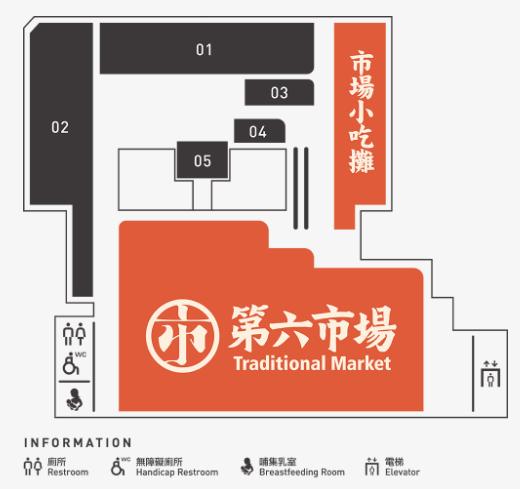 第六市場 マップ