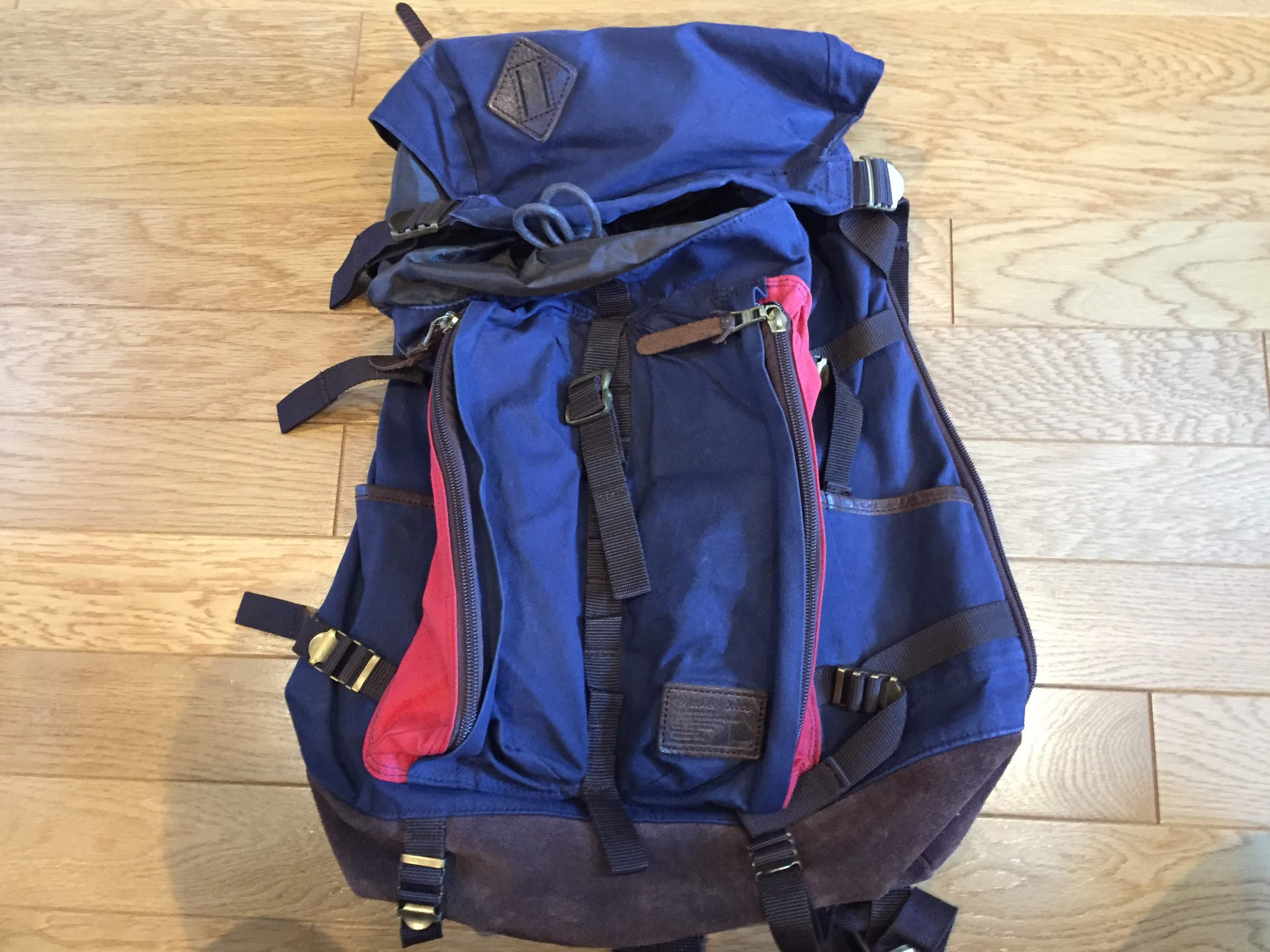 台湾旅行 1週間 バッグ バックパック