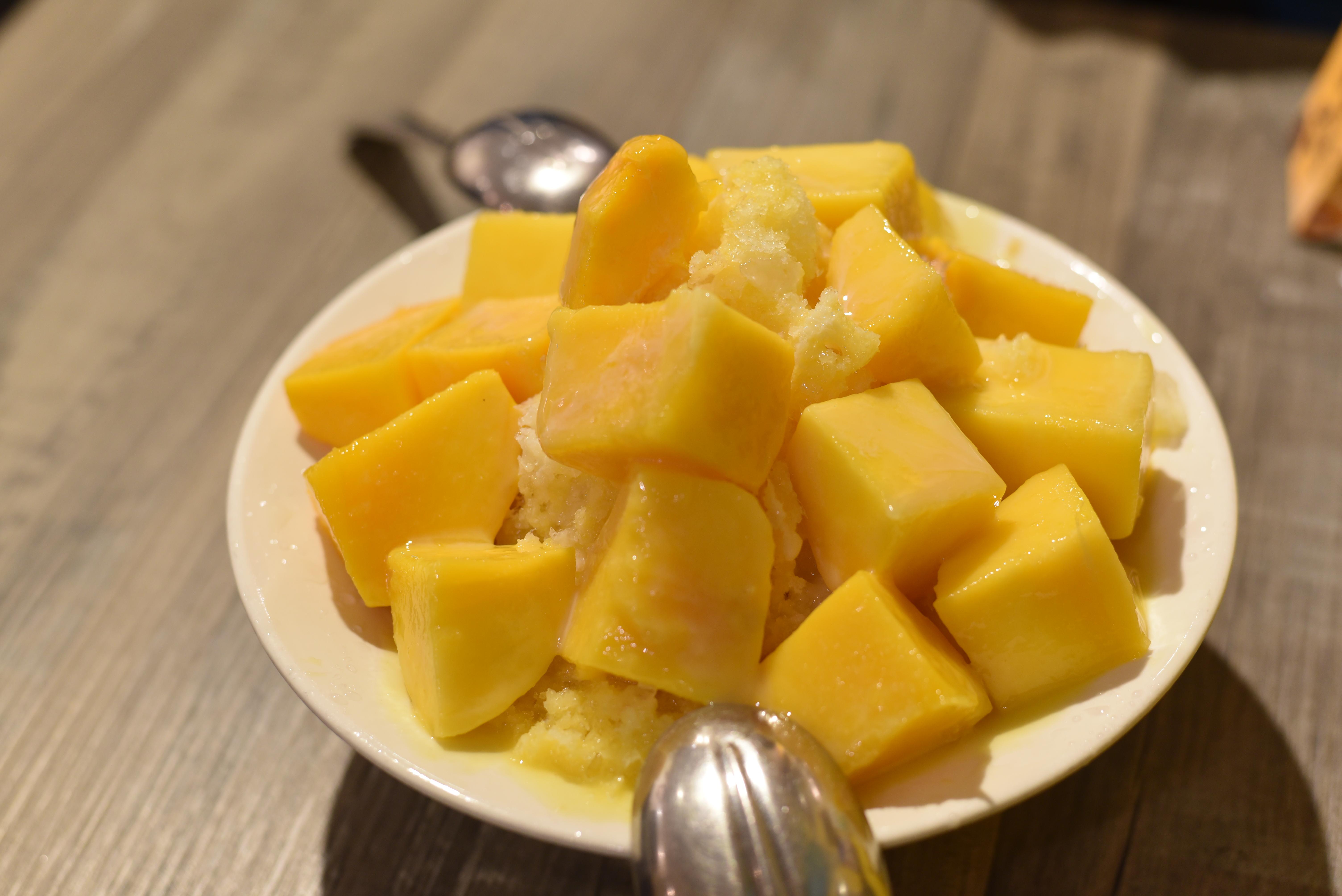 緑豆蒜啥咪 マンゴーかき氷